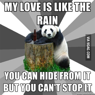 Pick up line Panda strikes again!!