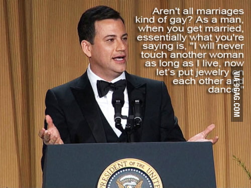 Marriage is gay