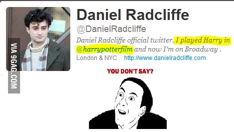 Just Dan Radcliffe