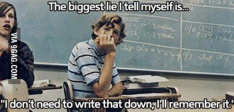 Biggest Lie in My College Life