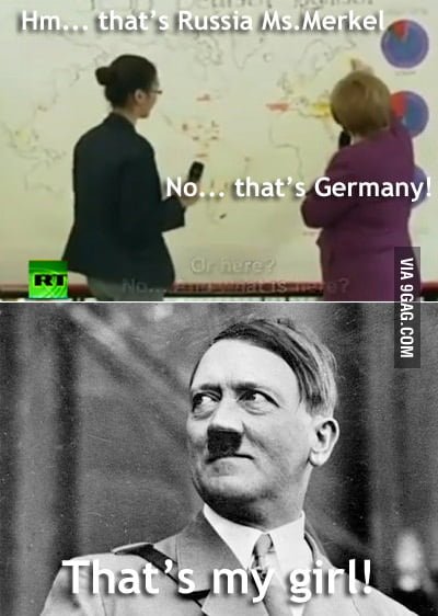 Angela Merkel and geography...