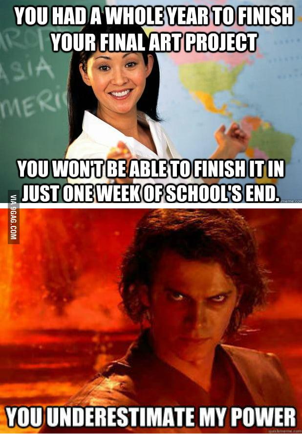 Arts School Students...