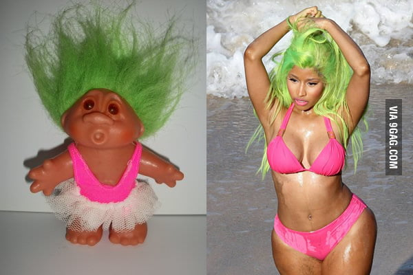 What's DIfference? Nick Minaj Being A Troll