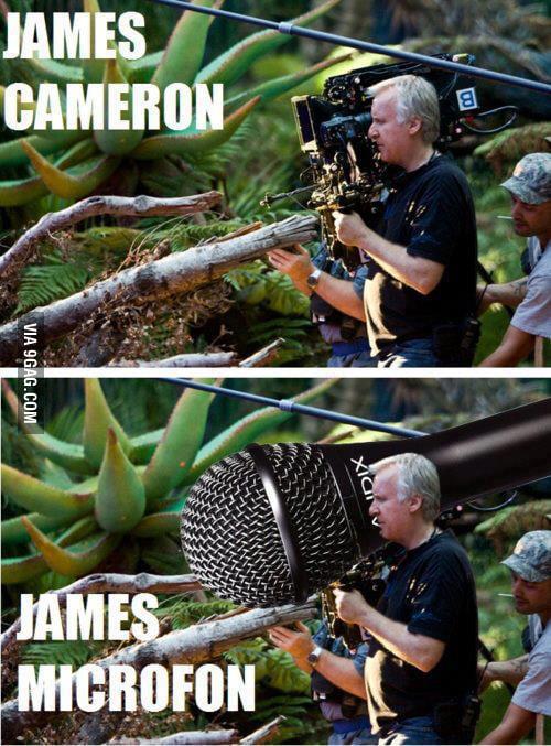 James Cameron-James Microfon