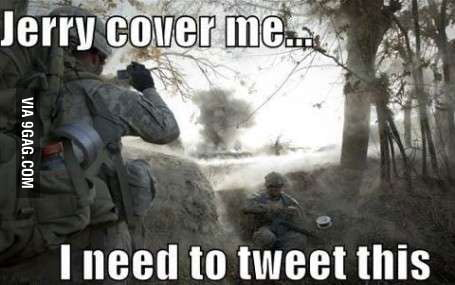 Soldiers nowadays....