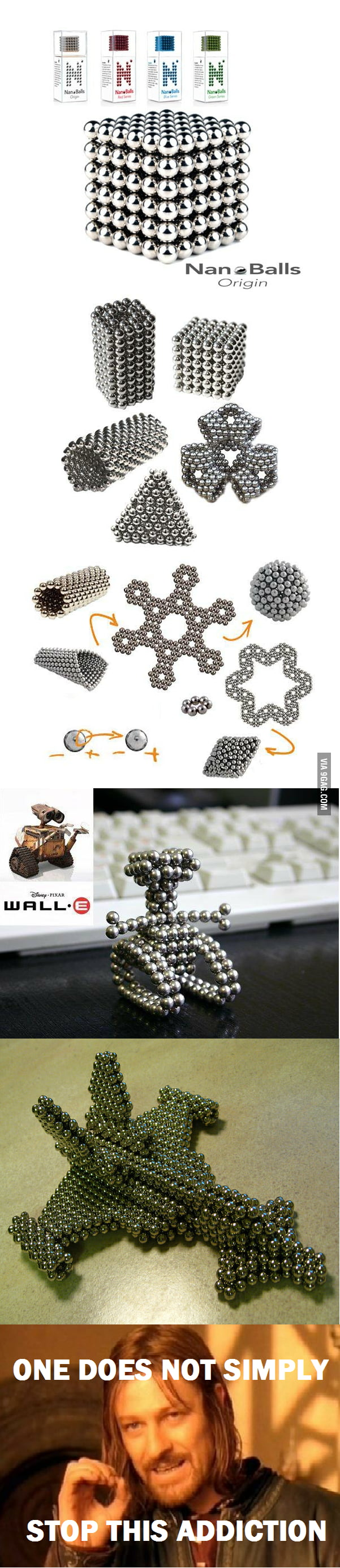 What can you make with Magnetic Balls?