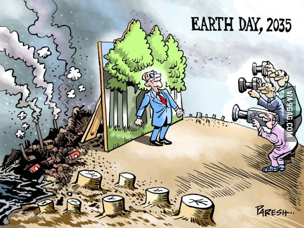 Earth day - 2035