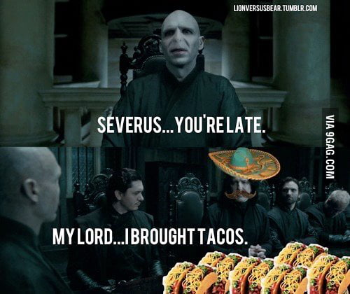 That's the spirit Severus!