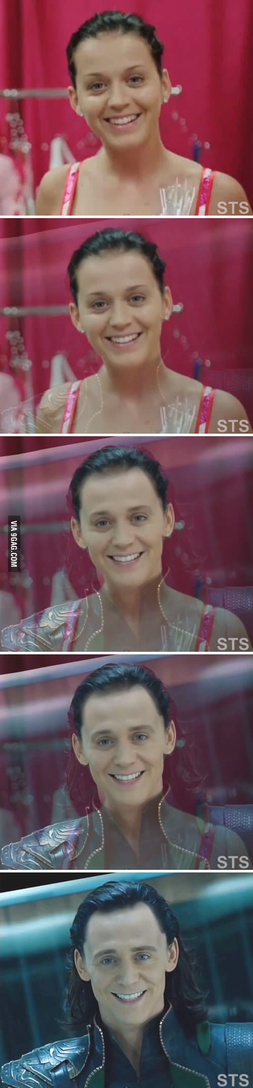 Holy sh*t! Loki Perry...