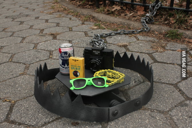 A Trap for the Hipsters