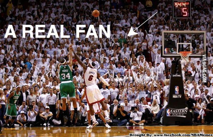 Boston's die hard fan
