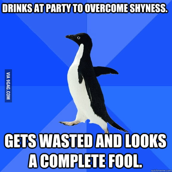 You can never win as a Socially Awkward Penguin