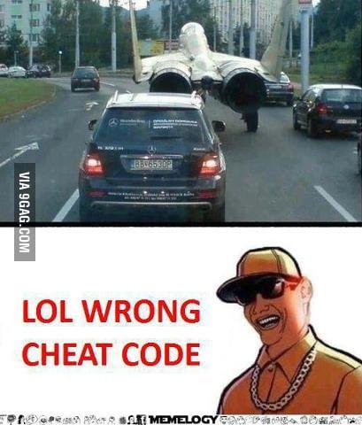 Wrong cheatcode!!