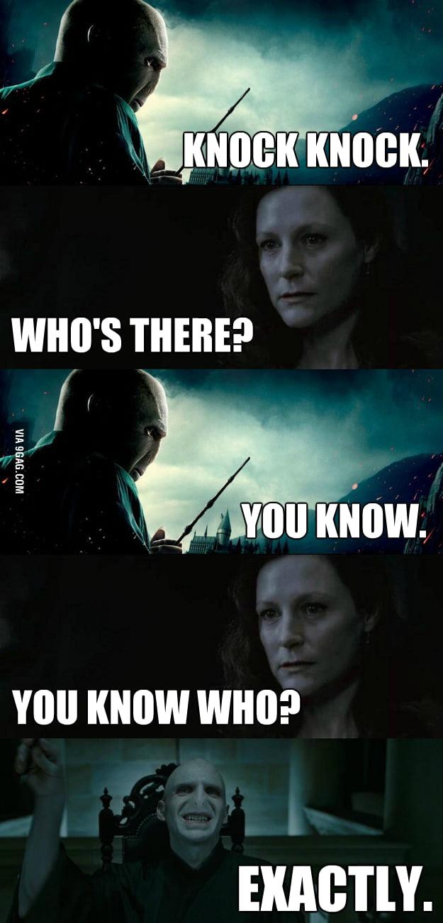 Dark Lord knocking