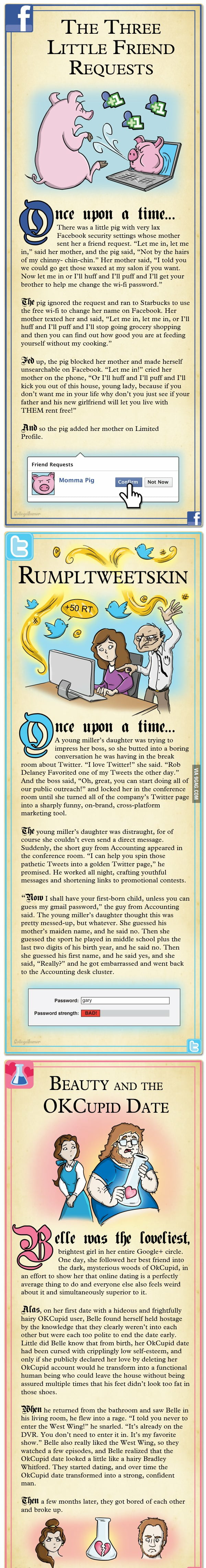 Internet Fairy Tales part 1