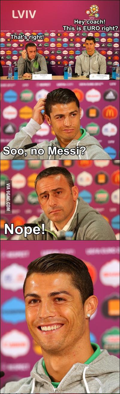 Funny Ronaldo...