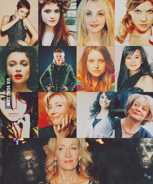 The Wonderful witches of Harry Potter
