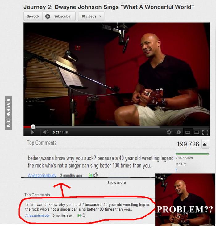 Problem, Bieber?