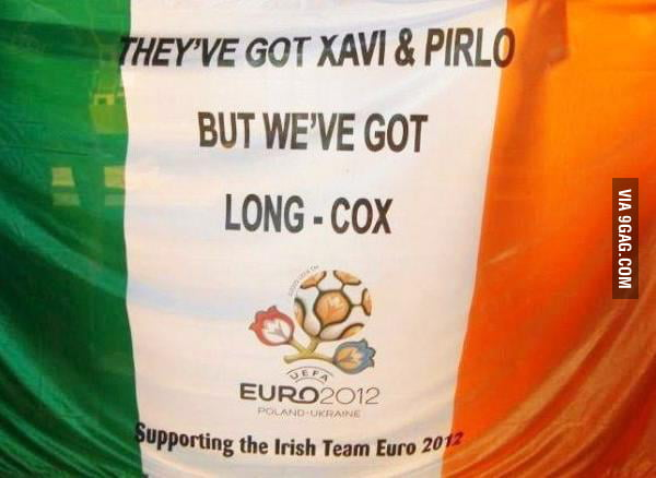 Irish Football Fans strikes again !