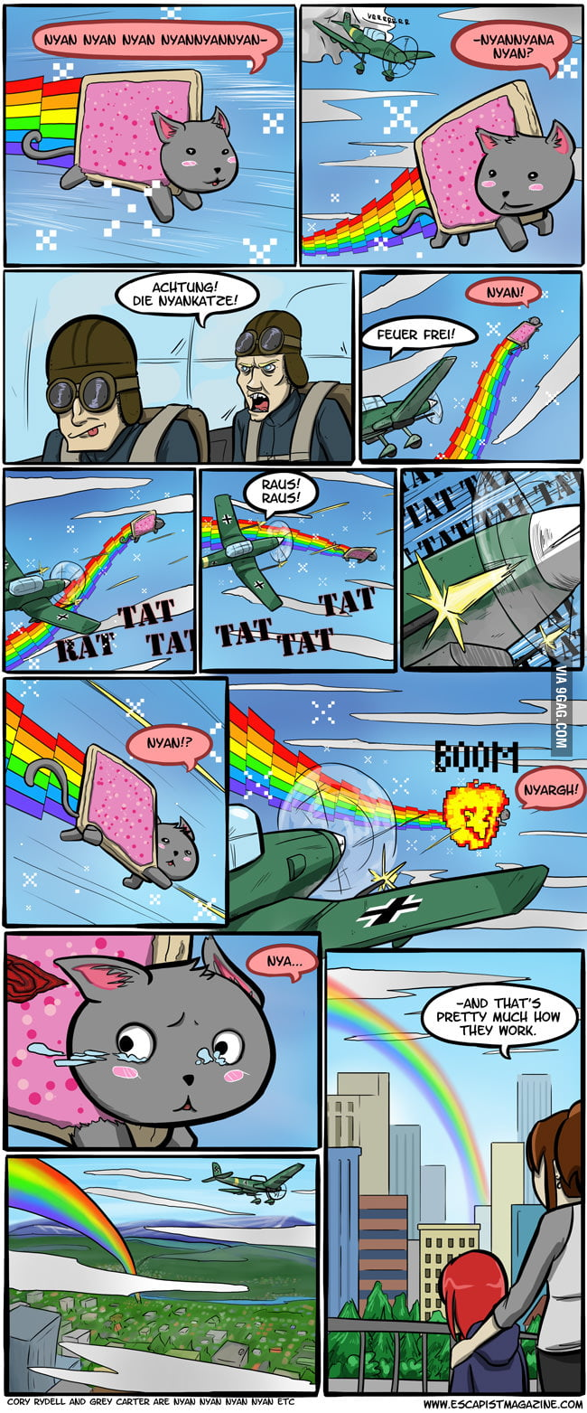 ...And that's how rainbows are made.