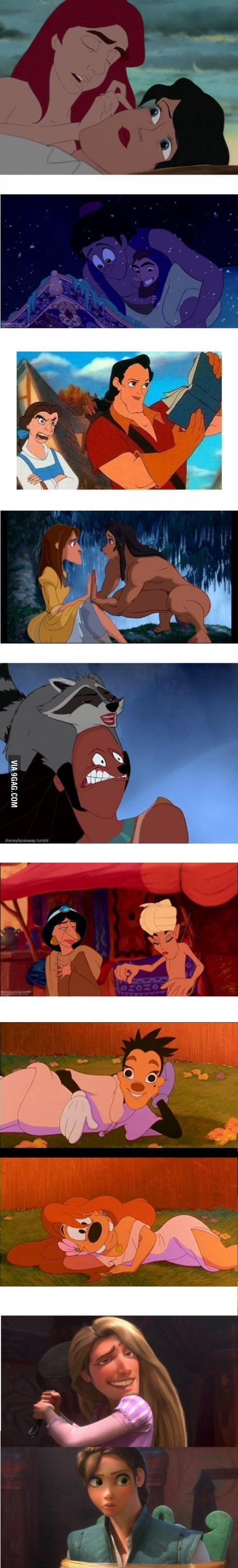 The Best of Disney Face Swaps