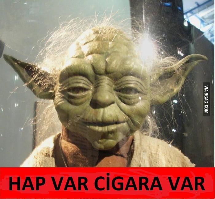 HAP VAR CİGARA VAR