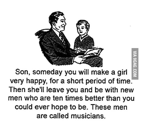 Just musicians