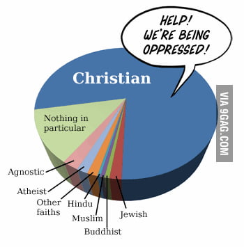 Oppressed....Seems legit