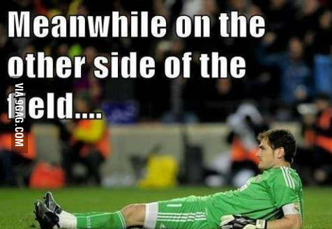 Casillas don't give a f**k