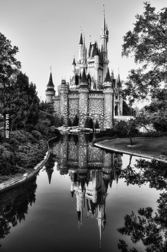 A long exposure of the Princess Castle.