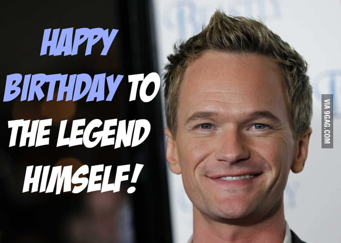 Happy Birthday Neil Patrick Harris!