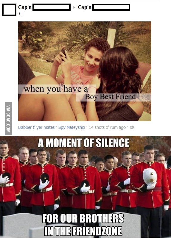 A moment of silence..