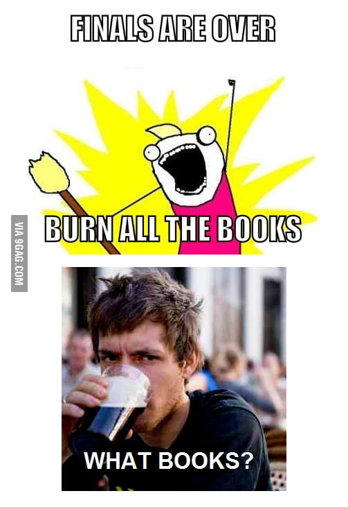 Dude, books?