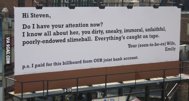 That billboard!