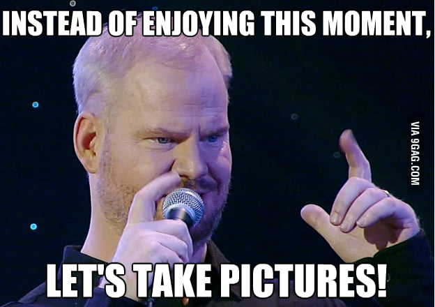 Jim Gaffigan understands my views on Instagram