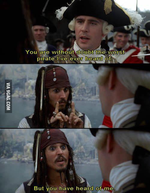 The logic of Captain Jack Sparrow