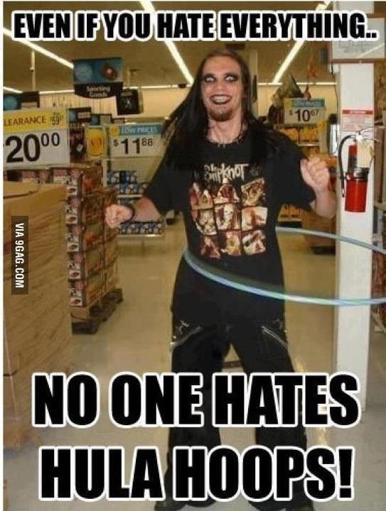 No one hates hula hoops