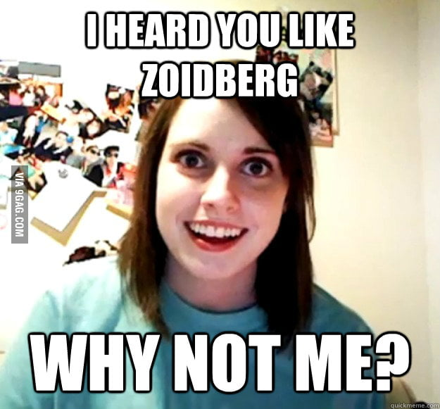 Overly Attached Girlfriend: Zoidberg