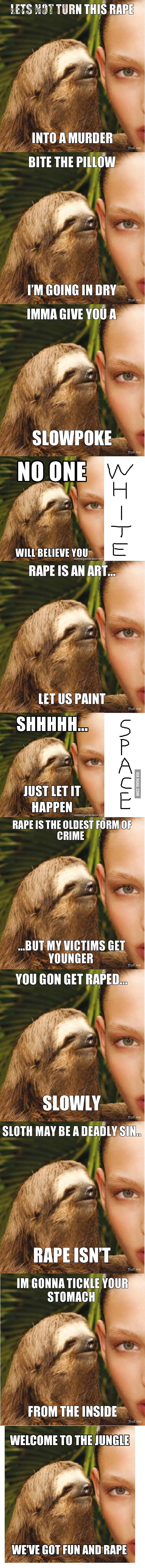 Rape sloth compilation