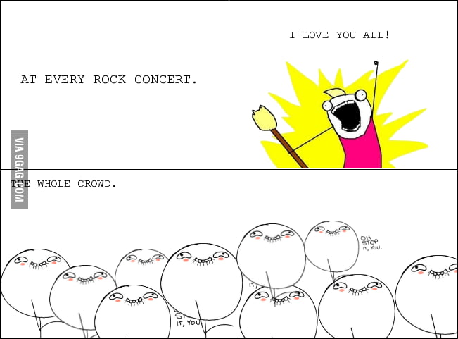 At Every Rock Concert