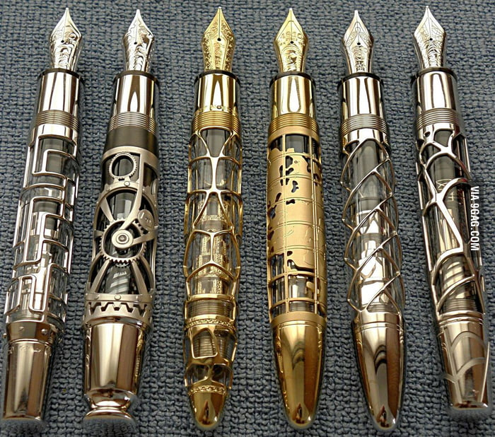 The most beautiful pens