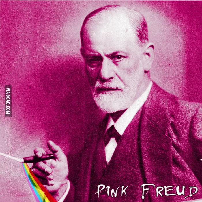 Just Freud being pink.