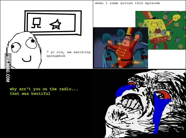 Spongebob rage