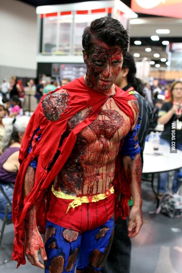 Superman, you're doing it right!