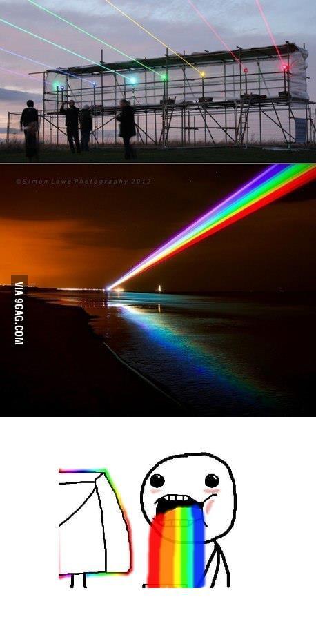 Just a rainbow