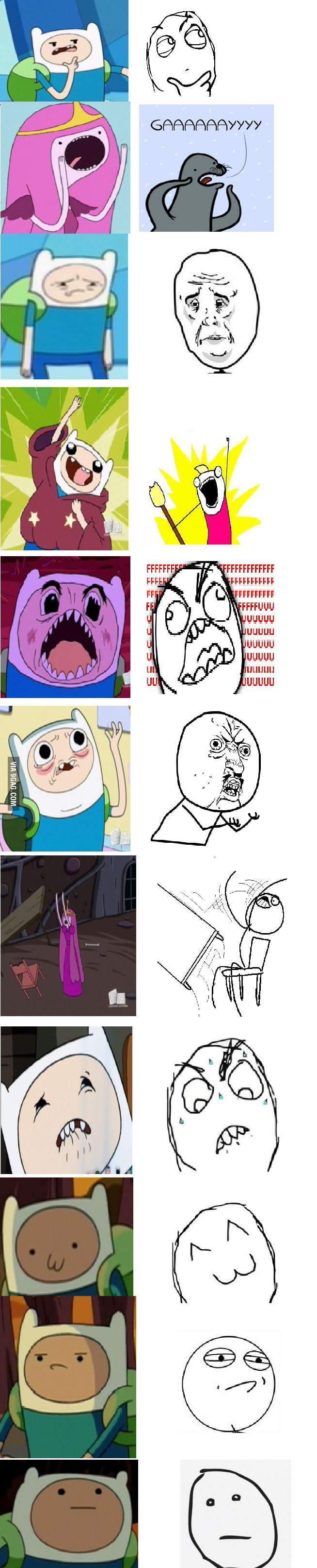 Memes in Adventure Time Part1