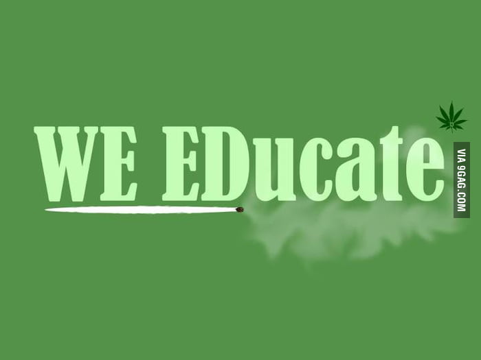 WE EDucate.