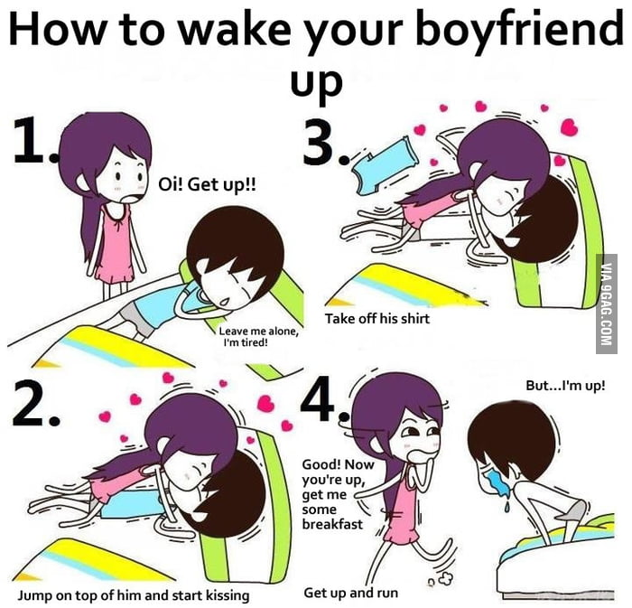 How to wake up your girl