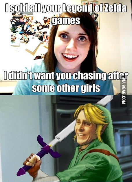 Overly attached Girlfriend strikes yet again...