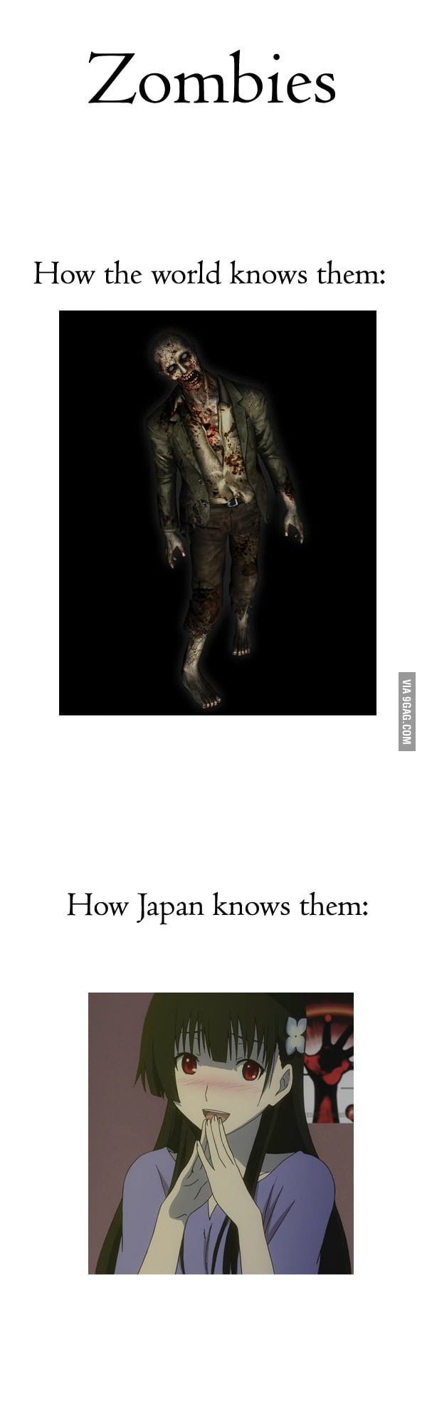 Zombies in Japan